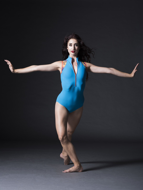 Kaleena Leotard with Front Zipper