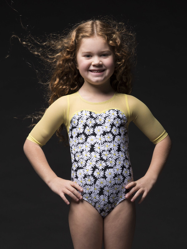 Vinzant Kids Circle Back Leotard