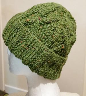 Moss Green Aran Pattern