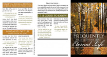 FAQ's About Eternal Life - Fall