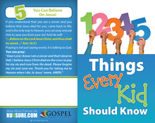 5 Things Every Kid (Numbers) PACK