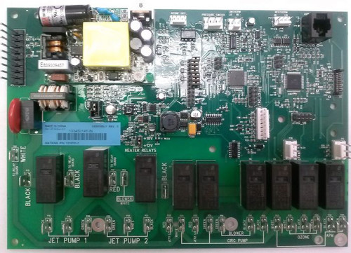 Hot Spring Control Board IQ2020 60Hz 77087