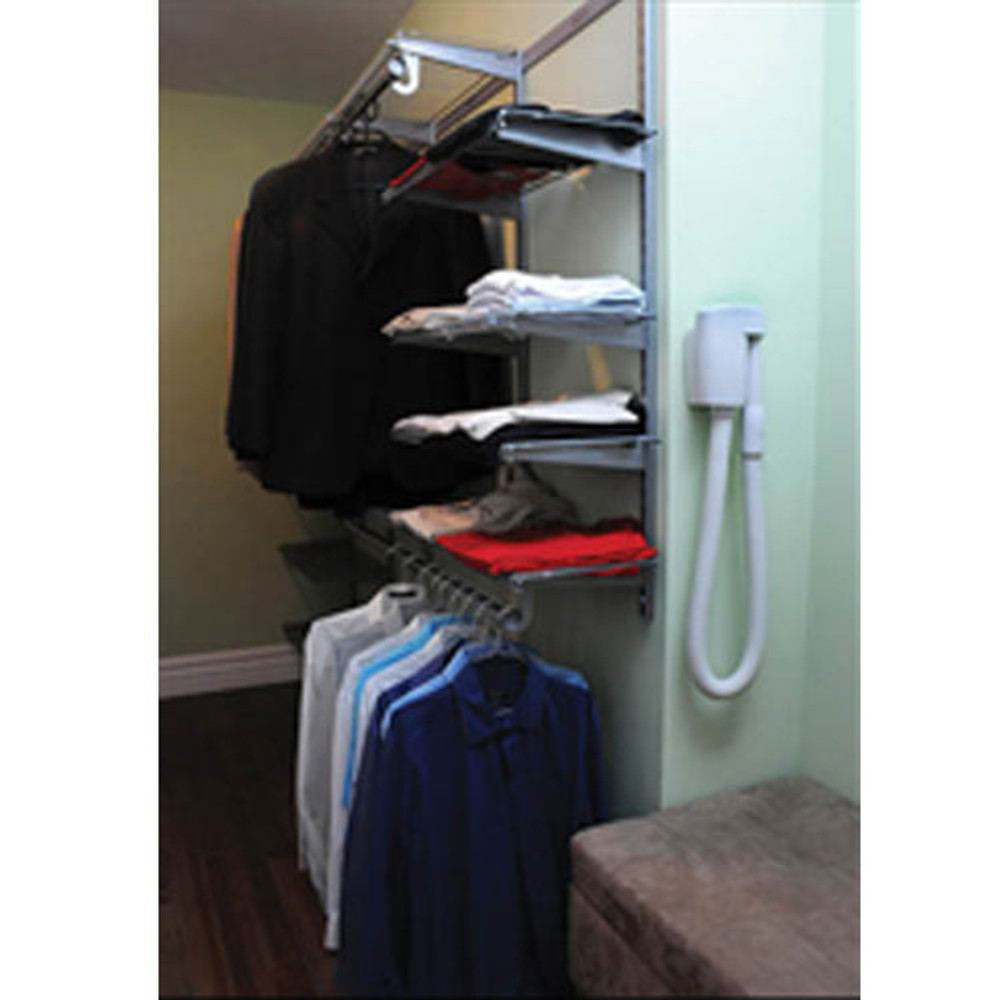 The WallyFlex will be your helping hand in those tight spaces like closets