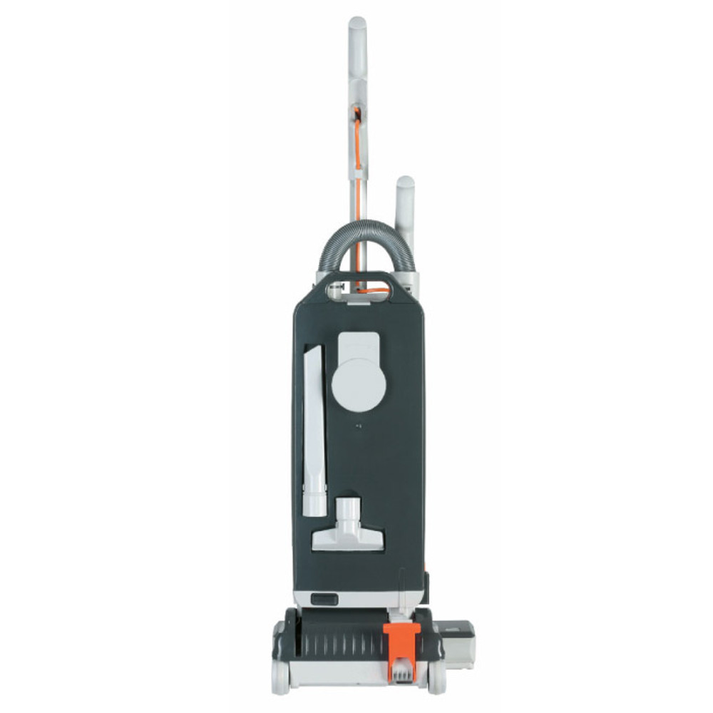 Three on-board tools and hose allows for above floor cleaning.