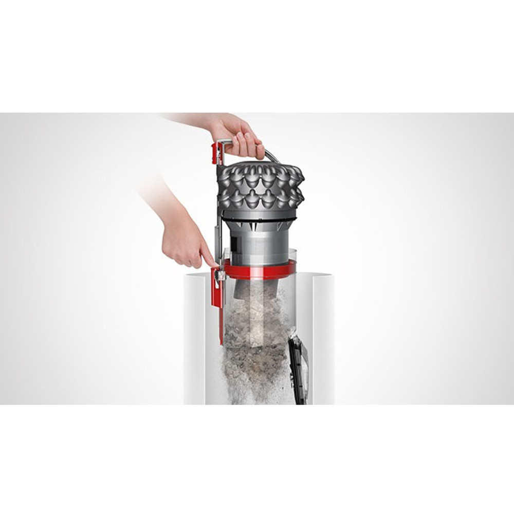 Hygienic Dirt Extraction On Dyson Big Ball Animal Dirt Bin