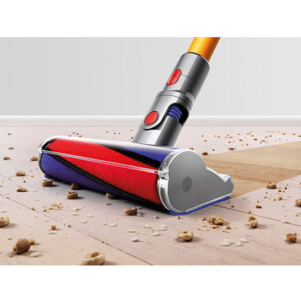 Soft Roller Cleaner Head best for removing large debris and fine dust simultaneously