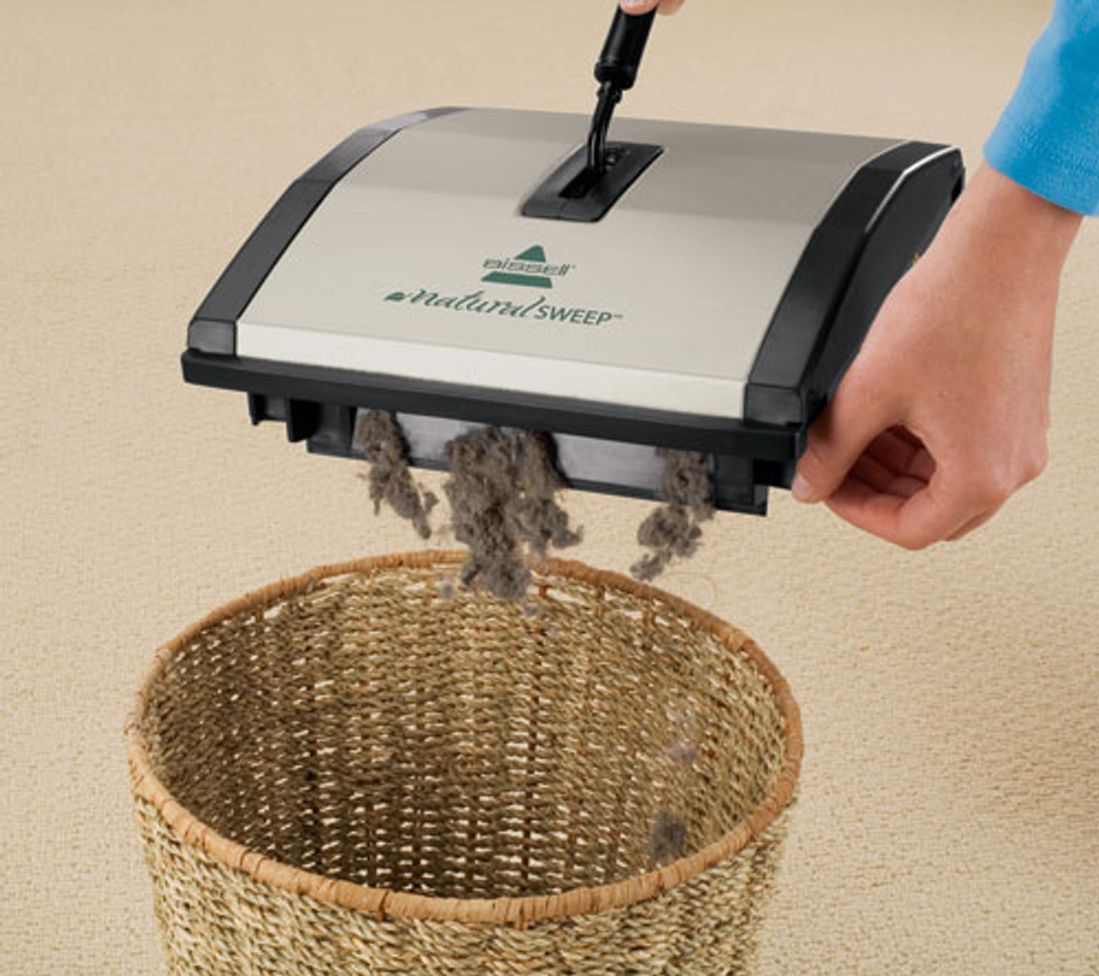 Bissell Carpet Sweepers are Easy to Empty