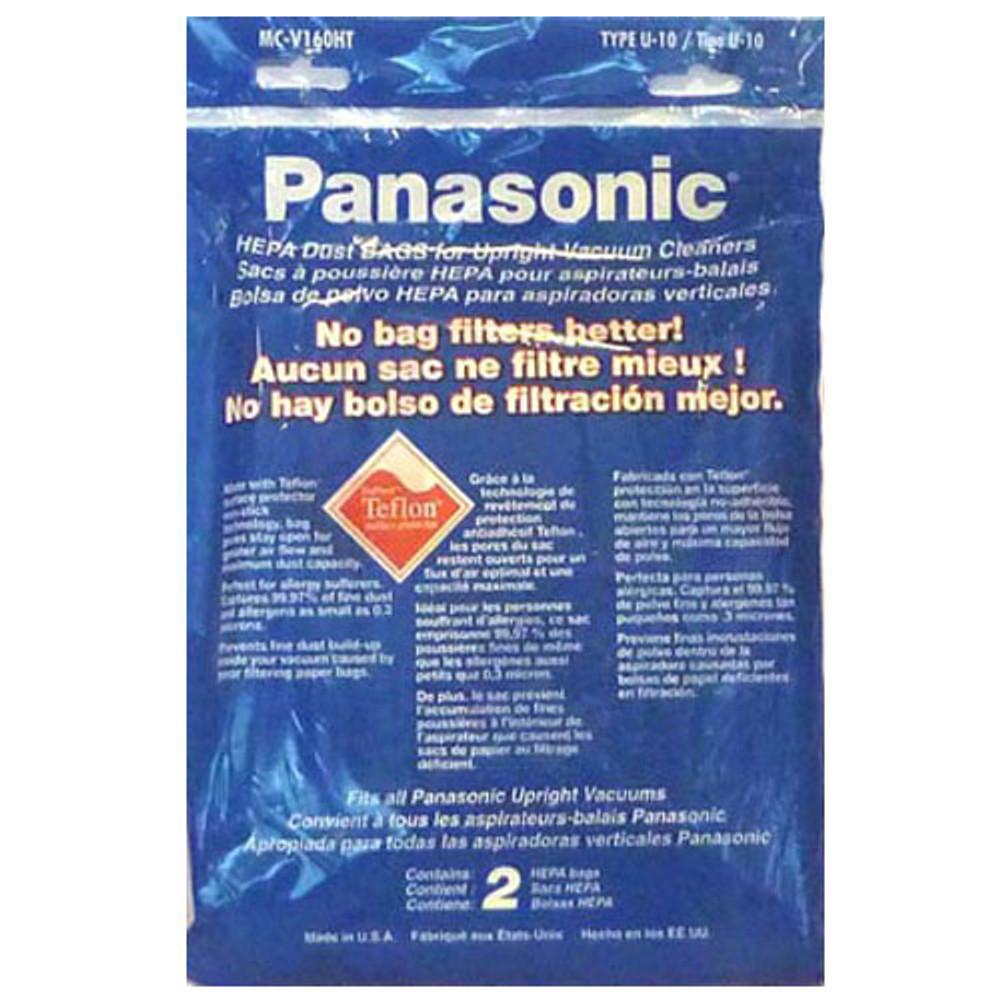 Panasonic U10 Upright Vacuum Cleaner Bags