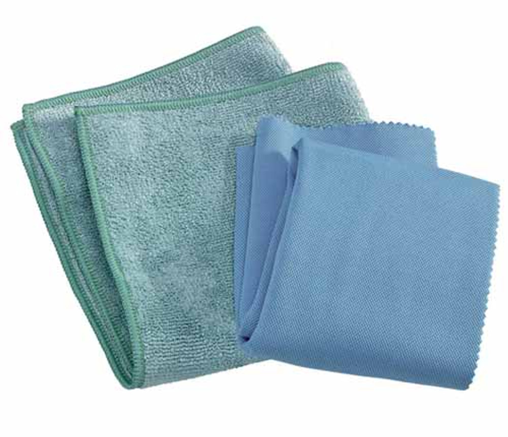 Includes 1 general purpose and 1 glass & polishing cloth.