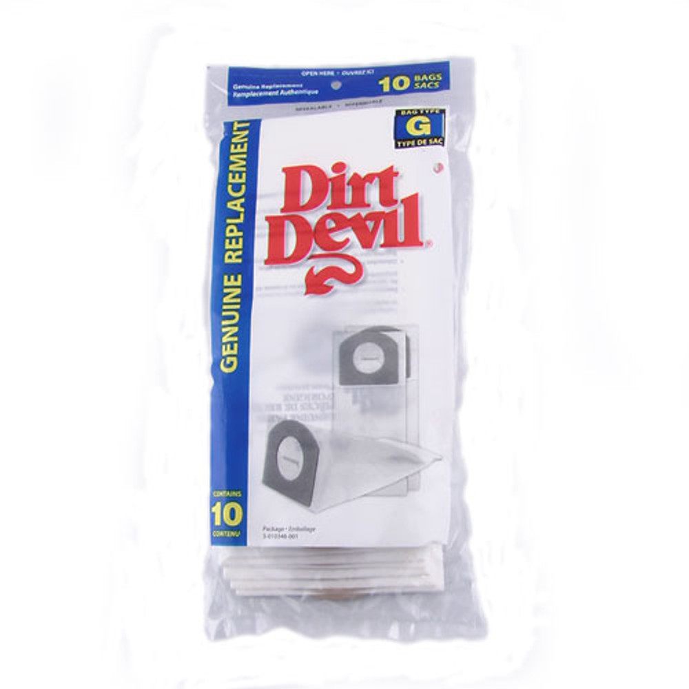 Dirt Devil Type G Vacuum Bags