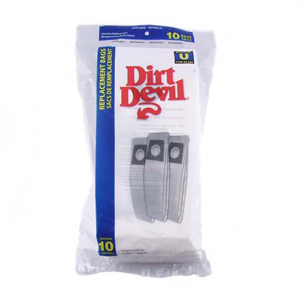Dirt Devil Type U Vacuum Bags 10pk