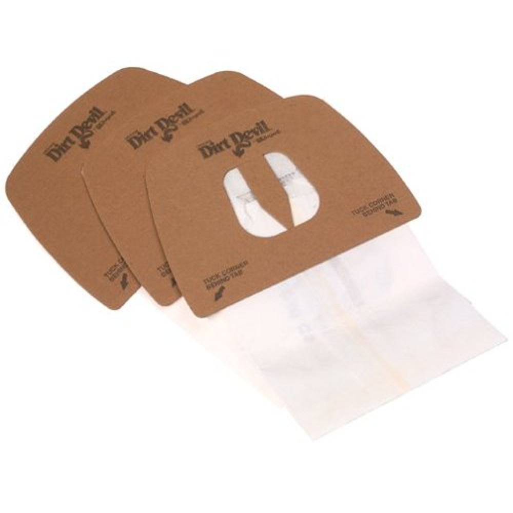 Dirt Devil Type F Vacuum Bags - 3pk
