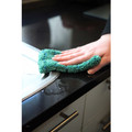 Microfibre pad can also be used for cleaning taps, sinks, and counters.