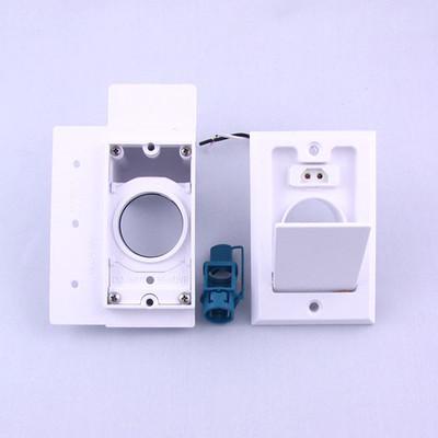 Central Vacuum Super Valve Inlet - White