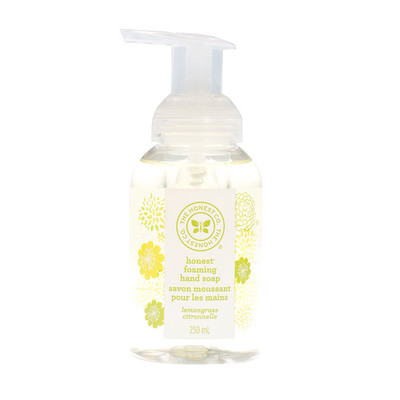 Honest Company Lemongrass Foaming Hand Soap