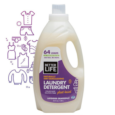 Better Life All Natural Laundry Detergent