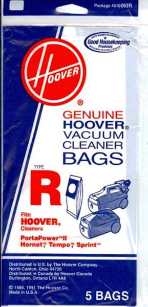 Hoover Type R Vacuum Bags