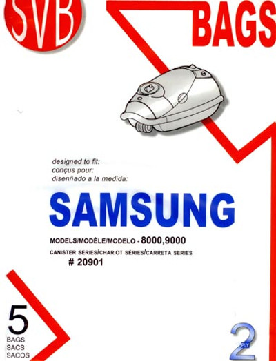 Samsung Vacuum Bags for 8000 and 9000 Series