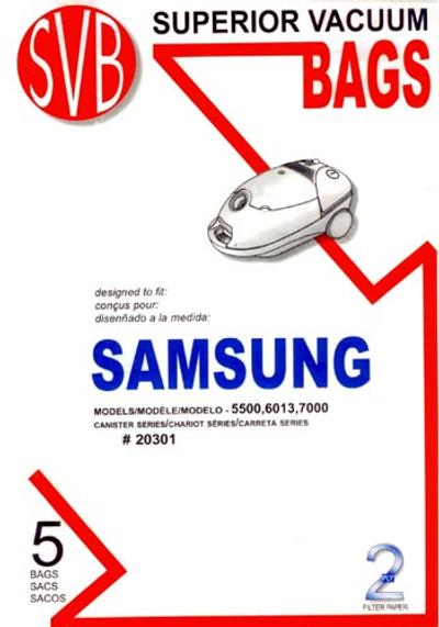 Samsung Vacuum Bags 5500, 6013, 7000 Series