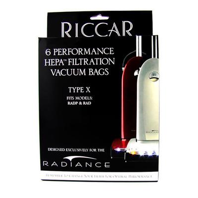 Riccar Type X Vacuum Bags