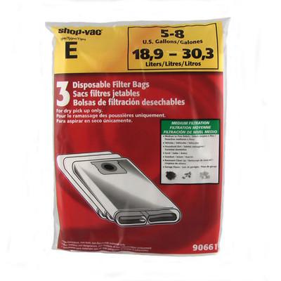 ShopVac 4 - 8 Gallon Bags