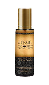 Essential fatty acids ensure the functions of repair and defense of the hair and skin The composition of argan, a most stable unique oil, endows it with many benefits which are scientifically proved today. Argan oil presents an exceptional percentage of essential fatty acids, one of which is linoleic acid (omega 6, the most essential of all) ensuring the functions of repair and defense of the hair and skin. Vitamin E protects the cell membranes against lipid oxidization and thus slows down the process of hair and skin ageing. Directions: Hair: Spread the argan oil from the roots to the ends and leave for about an hour before shampooing. Dry and brittle hair recovers brilliance and suppleness. Body: After bath, warm the argan oil in your hands and massage your body with upward movements. Twice or three times a week. 100ml