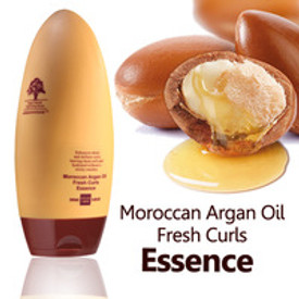 Enhances shine and defines curls leaving them soft and hydrated without a sticky residue.  Directions;  Arganmidas Moroccan Argan Oil Fresh Curls Essence is the perfect solution for the those with curly or wavy hair that just won't stay tame.Infused with Argan oil, naturally rich in Vitamin E that has been shown to help improve and strengthen hair strands, this unique blend of ingredients will give your hair a beautiful shine while keeping it manageable and frizz free.  Infused with advanced technology and curl memory that give the ultimate hold while still retaining lightweight bounce and brilliant shine, the Arganmidas Moroccan Argan Oil Fresh Curls Essence is a dream come true for anyone with uncontrollable and frizzy curls or waves. Control your hair, don't let it control you!  After shampooing and conditioning, apply a generous amount to towel dried hair and diffuse or let dry naturally.