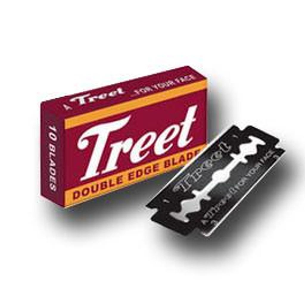 Treet Carbon Steel Black Beauty Double Edge Razor Blades | Agent Shave