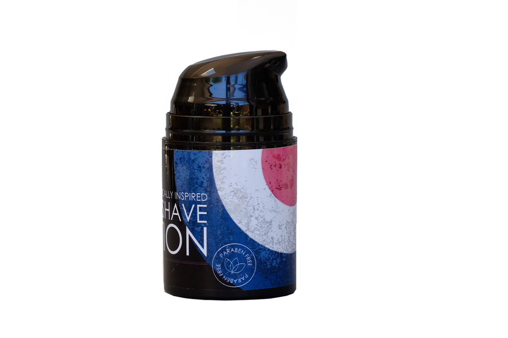 Phoenix and Beau Spitfire Post Shave Lotion   Paraben Free   Agent Shave