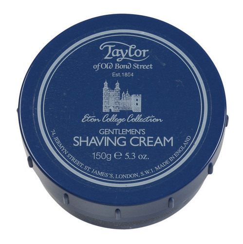 Taylor of Old Bond Street - Eton College Collection - Gentlemans Shaving Cream 150g | Agent Shave