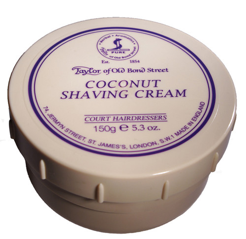 Taylor of Old Bond Street - Coconut Shaving Cream 150g | Agent Shave