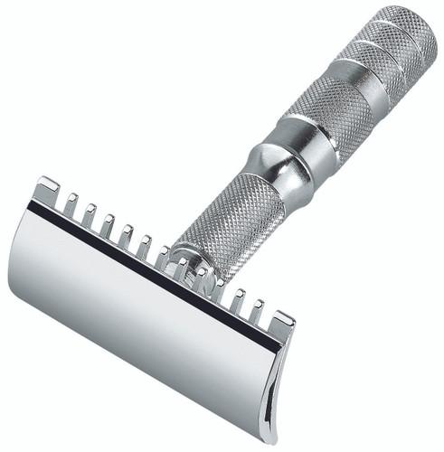 Merkur 985 Travel Razor - Open Comb | Agent Shave