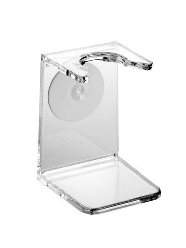 Edwin Jagger Clear Shaving Brush Drip Stand | Agent Shave