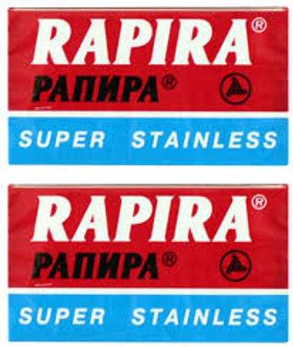 Rapira Super Stainless Double Edge Razor Blades | Agent Shave