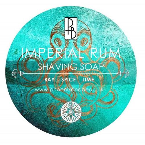Imperial Rum Shaving Soap - Phoenix & Beau | Agent Shave