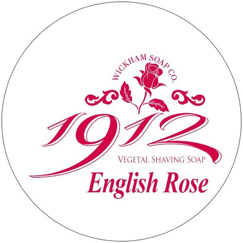 Wickham Soap Co Vegetal Shaving Soap - English Rose | Agent Shave
