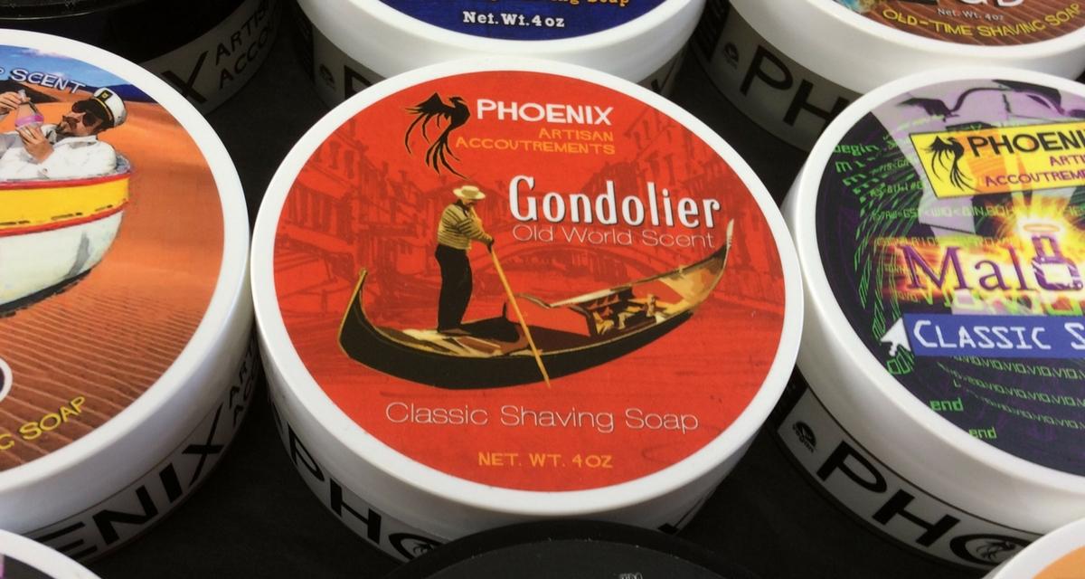Phoenix Artisan Accoutrements Gondolier Shaving Soap   Agent Shave