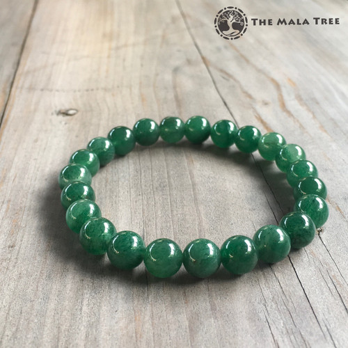 Brazilian GREEN AVENTURINE Bracelet (High Quality)