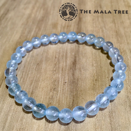 BLUE TOPAZ Bracelet 6mm