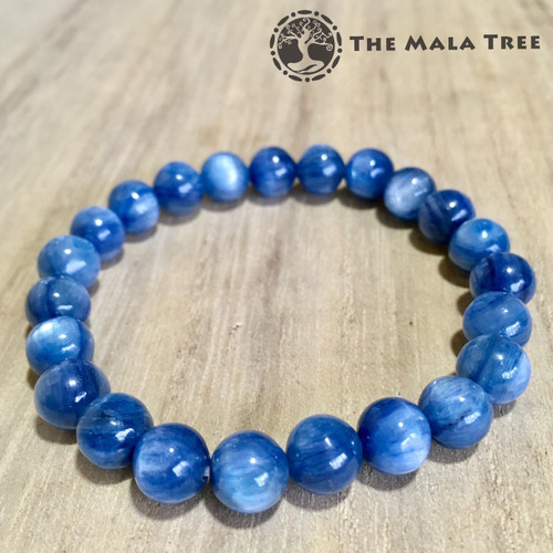 High Quality AZURE BLUE KYANITE 8mm Bracelet