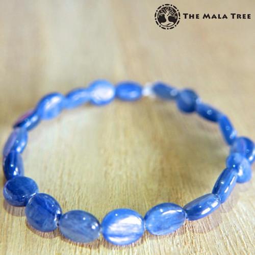 KYANITE (High Quality) Flat Oval Bracelet