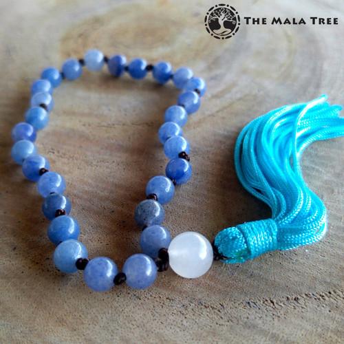 BLUE AVENTURINE Wrist Mala
