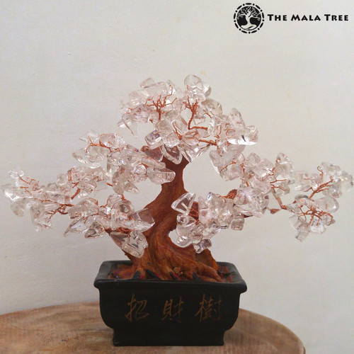 CLEAR QUARTZ Money Tree