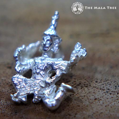 Hanuman Silver Pendant