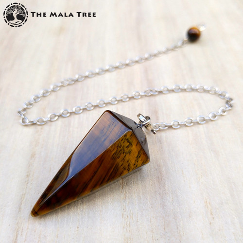 GOLD TIGER'S EYE Pendulum