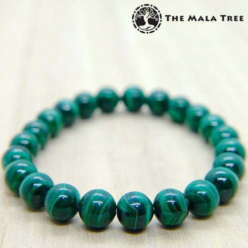 High-Quality MALACHITE Bracelet 8mm