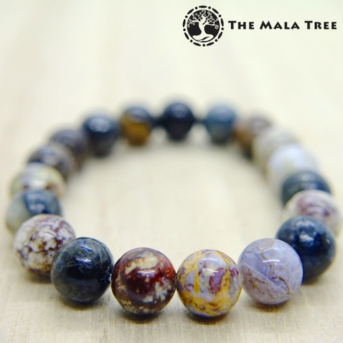 Multicolor PIETERSITE Bracelet 8mm