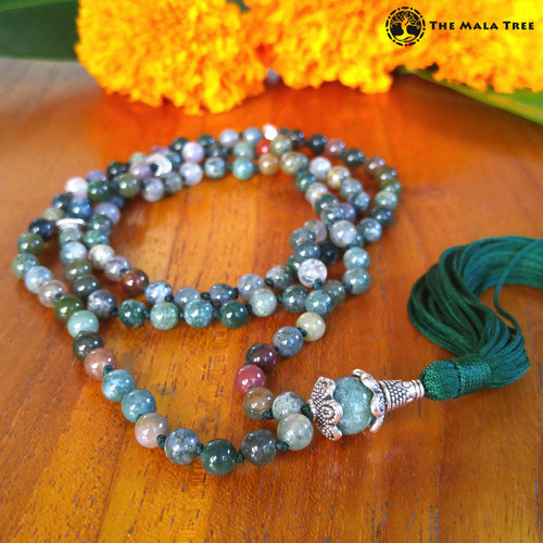 ALL FANCY JASPER Bespangled 108 Mala