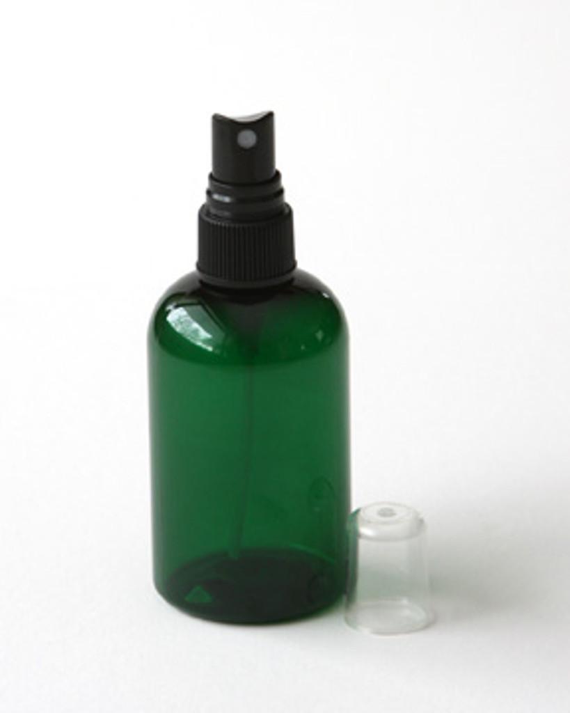 Green Plastic 4 oz. Spray Bottle