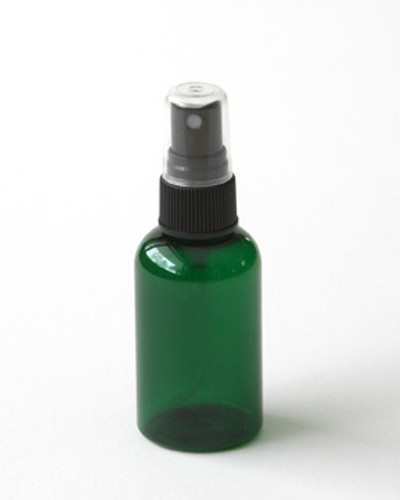 Green Plastic 2 oz. Spray Bottle